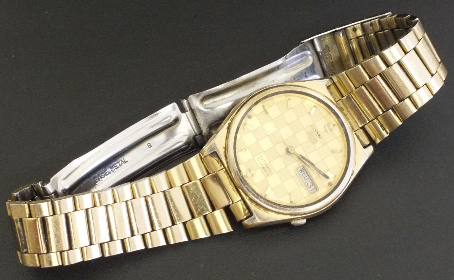 SEIKO 7019-8180 Gold effect for project or parts